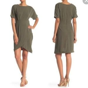 Bobeau Green Dress